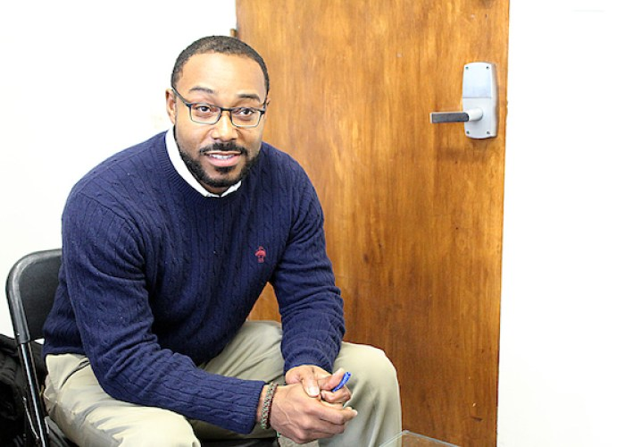 Justin Hansford, associate professor at the Howard University Law School and executive director of the school's Thurgood Marshall Civil Rights Center (Brigette White/The Washington Informer)
