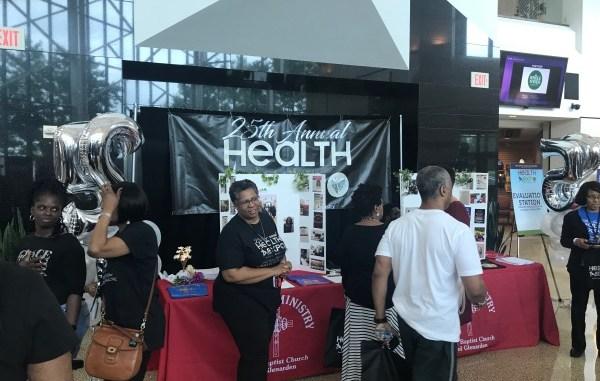 First Baptist Church of Glenarden in Upper Marlboro, Maryland, holds its 25th annual health expo on June 2. (Hamil R. Harris/The Washington Informer)