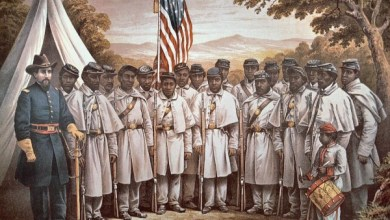 The African American Civil War Museum provides a comprehensive background on the USCT memorial. (Courtesy of African American Civil War Museum)
