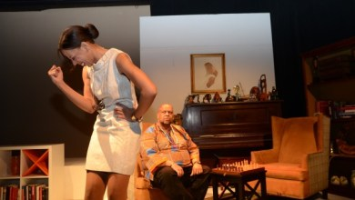 "The cast, crew and creative team of Restoration Stage, Inc. have returned to the stage with a revival of their acclaimed production, ""Chocolate Covered Ants,"" now appearing at THEARC WEST Theater in Southeast through Oct. 28. (Courtesy of Kianga Lee)"