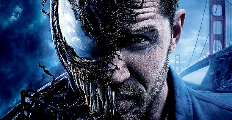 "Tom Hardy as ""Venom"" (Courtesy photo)"