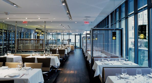 "Sourcing a table reservation at Wolfgang Puck's ""The Source"" should be done a week in advance. Other popular tables can take over a month to book."