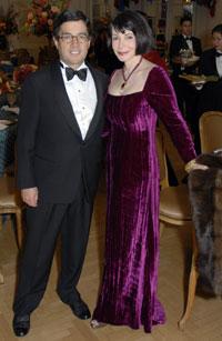 Luis Alberto Moreno and JoAnn Mason