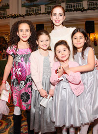 Ariella Cymerman, Charlotte Rose Lamotte, Talia Startsman, Lila and Jacoba Harris