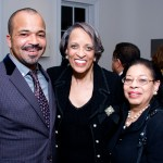 Mr. Jeffrey Wright, Actor; Dr. Johnetta B. Cole; Ms. Carolyn Jordan, Gala Chair, National Museum of African Art, Smithsonian Institution