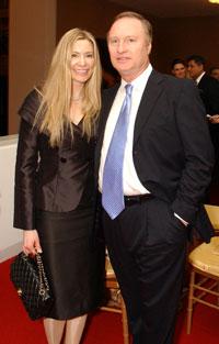 Pia-Maria and Steve Norris