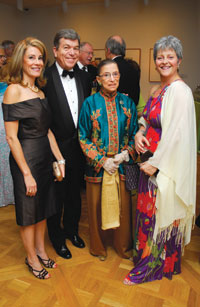 Abigail Blunt and Rep. Roy Blunt, Justice Ruth Bader Ginsburg, and Martha Ann Alito