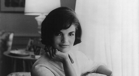 A photo of Jackie Kennedy during her White House years.