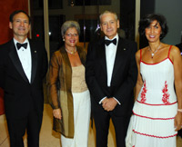 Justice Samuel Alito and Martha Alito with Italian Ambassador Giovanni Castellaneta and Leila Castellaneta