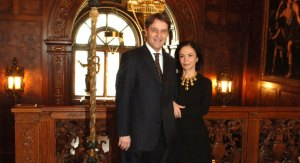Turkish Ambassador Nabi Sensoy and his wife are the first couple to live in the newly-renovated Turkish residence.