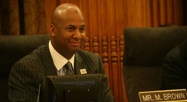 Council member Brown