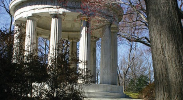The World War I Memorial.