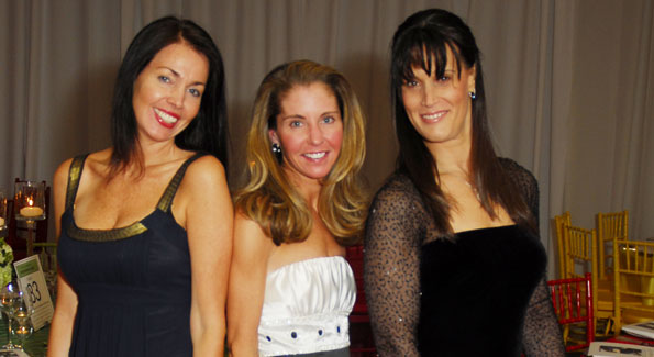 Kerry Troup, Allison O'Connor and Staci Wilkes