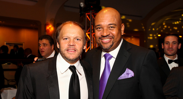 Mark Ein and Michael Wilbon. (Photo by Tony Powell)