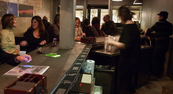 The Passenger Bar. (Photo By Jim Webb. From Zagat)