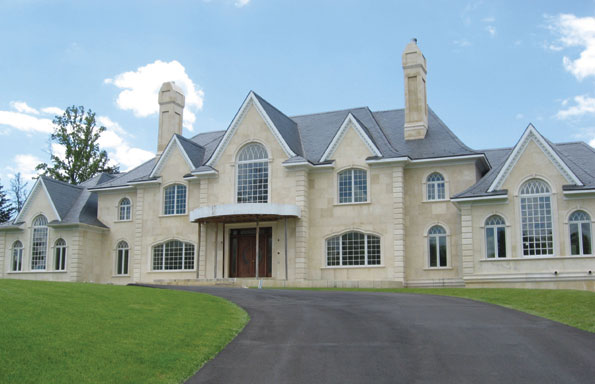 A stone manor house at 9808 Bentcross Drive in Potomac recently changed hands for $5.3 million.