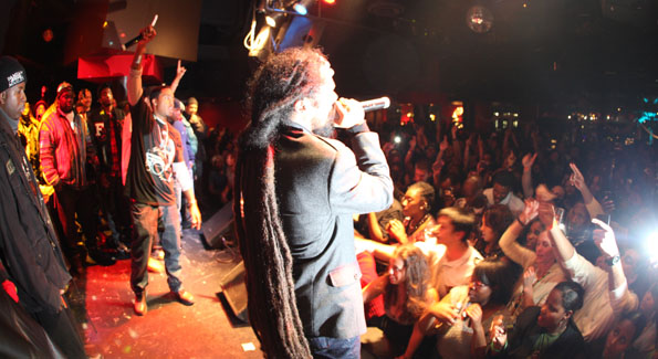 Damian Marley and Nas perform at Zanzibar after the Symposium