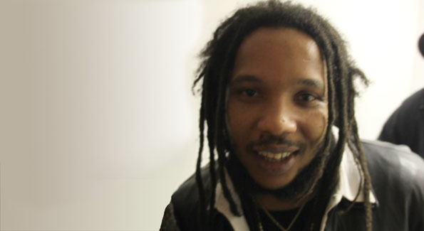 Stephen Marley after the National Geographic Symposium
