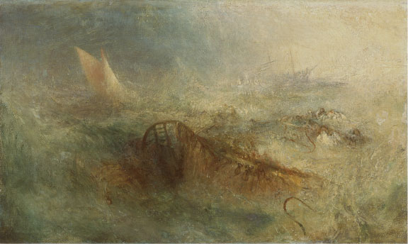 Joseph Mallord William Turner, The Storm, ca. 1840–45. Oil on canvas. National Museum of Wales; Miss Margaret S. Davies Bequest, 1963 (nmwa 509). Courtesy American Federation of Arts.