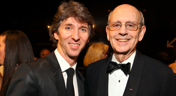 Dancer Damian Woetzel and Justice Stephen Breyer