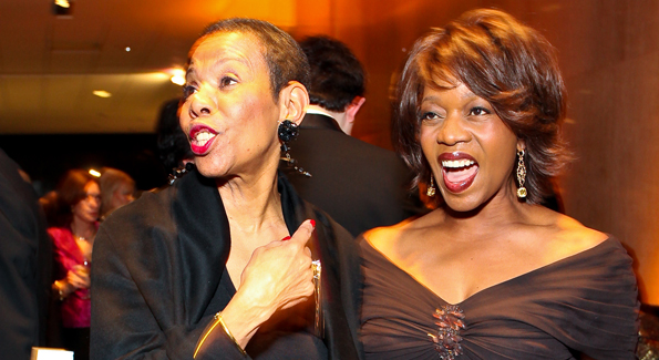 Mary Schmidt Campbell and Alfre Woodard