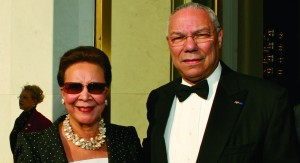 Alma and General Colin Powell