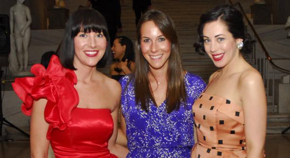 Kristin Guiter, Melanie Kimmelman and Rachel Cothran.