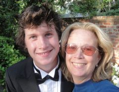 Mom and Prom: Carol Joynt sees her son off to his first big dance