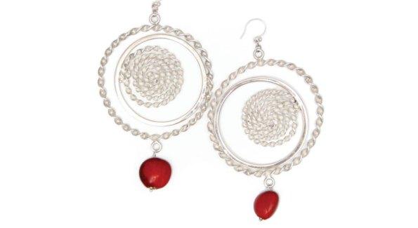 Sterling Silver Sunset Earrings ($125); www.ebrooksdesigns.com