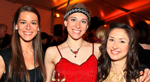 Laura Johnson, Genna Davidson, Catherine Blum. (Photo by Tony Powell)