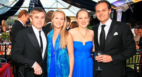 Rick Schroder, Alexa Chopivsky, Clara and George Chopivsky