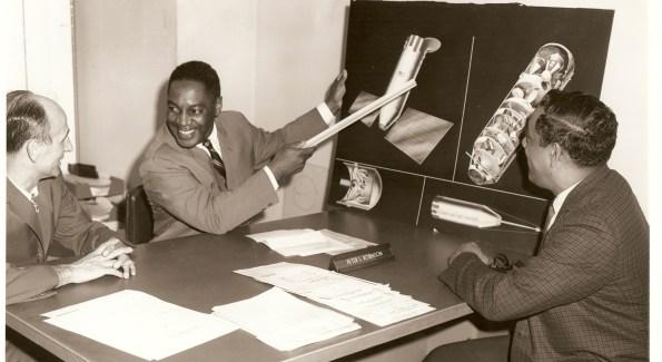 Mr. Robinson & Colleagues at NASA