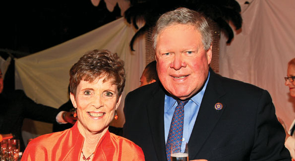 Rep. Norman D. Dicks and Susan Dicks