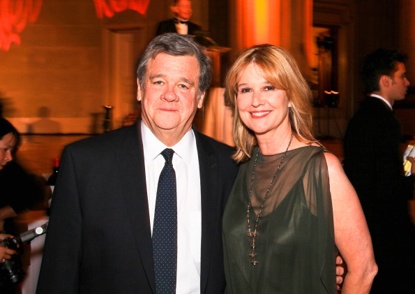 John Coale and Pulitzer Prize-winning Washington Post columnist Kathleen Parker. Photo by Tony Powell