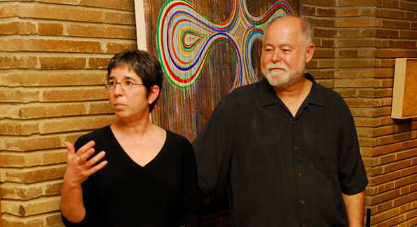 Judy Penski and Robin Rose. Photo by Kyle Samperton.