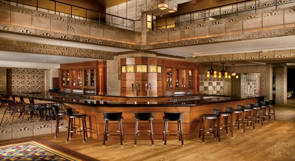 The Wright Bar at the Arizona Biltmore