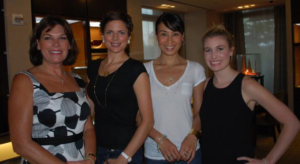 Ellen Setliff, Rhiannon, Yun Chong, and Lauren Setliff. Photo by Roshan Farazad.