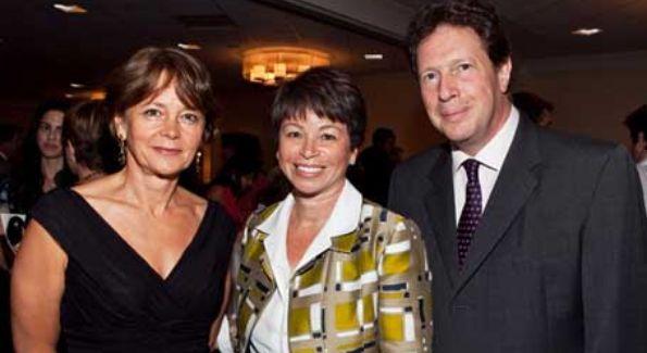 Valerie Jarrett with British Ambassador Sir NIgel Sheinwald and Lady Julia Sheinwald (Photo courtesy of thehill.com)