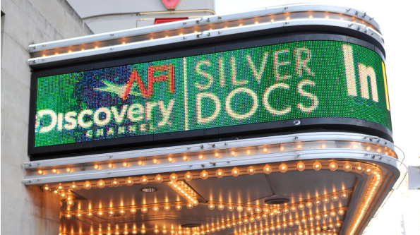 Silverdocs Festival offers many screenings this week in Washington. Photo courtesy of Silverdocs