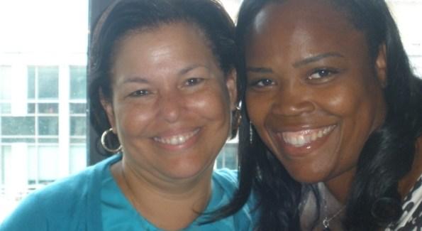 Debra Lee and Isha Price