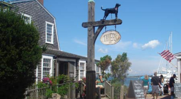 The Black Dog Tavern. Courtesy of Martha's Vineyard Vacation Tips.com