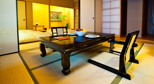The Sakura Room, one of two Japanese styled rooms at Villa 32. (Photo Anychi Wei)