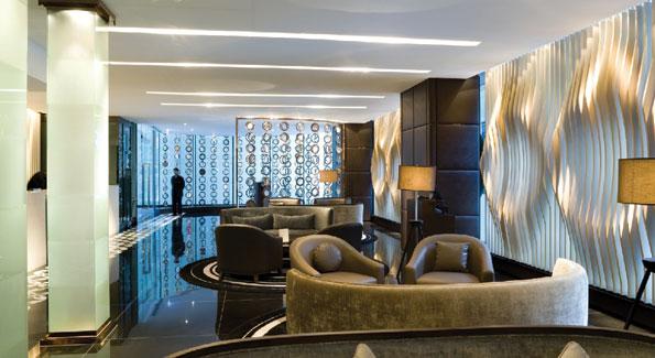 Lobby of Hotel LKF.