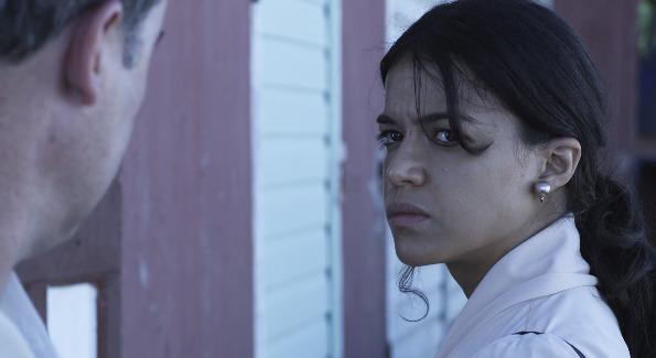 Actress Michelle Rodriguez in Tropico de Sangre