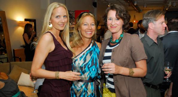 Rachel Joy, Justine Schmidt, and Maria Fyodorova. Photo by Kyle Samperton