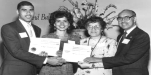 B. Doyle Mitchell Jr., Patricia Mitchell, Cynthia Mitchell, B. Doyle Mitchell Sr.
