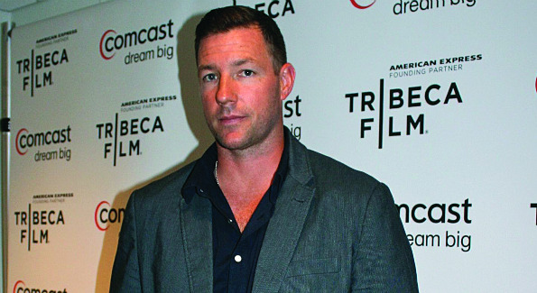 "Actor Ed Burns makes the scene at ""An Evening Celebrating Independent Film & Television.""  (Photo by Janet Donovan)"