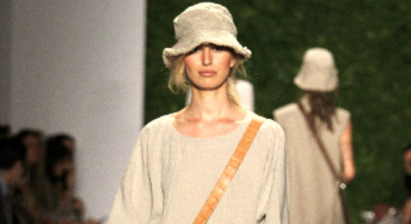 Karolina Kurkova showcasing this season's hottest trends at MBFW
