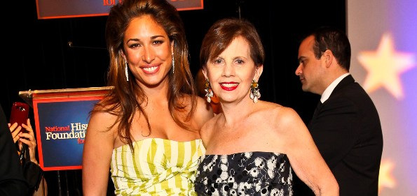 Actress Gabrielle Itie with Adrienne Arsht at Noche de Gala 2010. Photo by Tony Powell.
