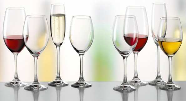 Stemware examples from German manufacturer Spiegelau